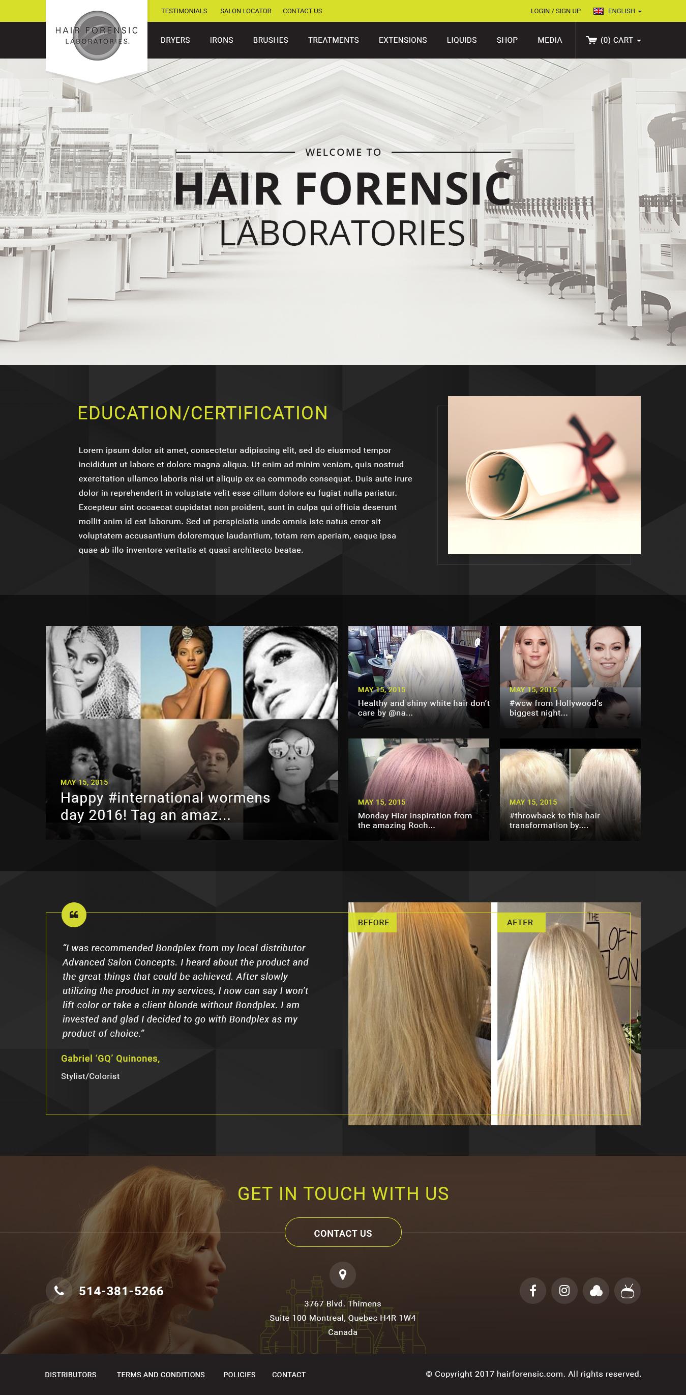 hair forensic
